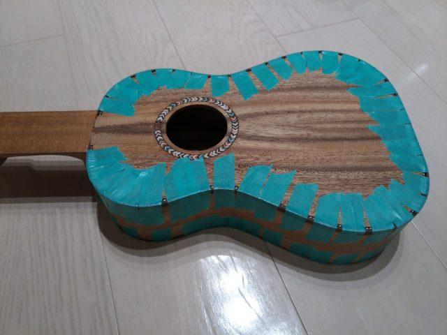 ミニギター製作